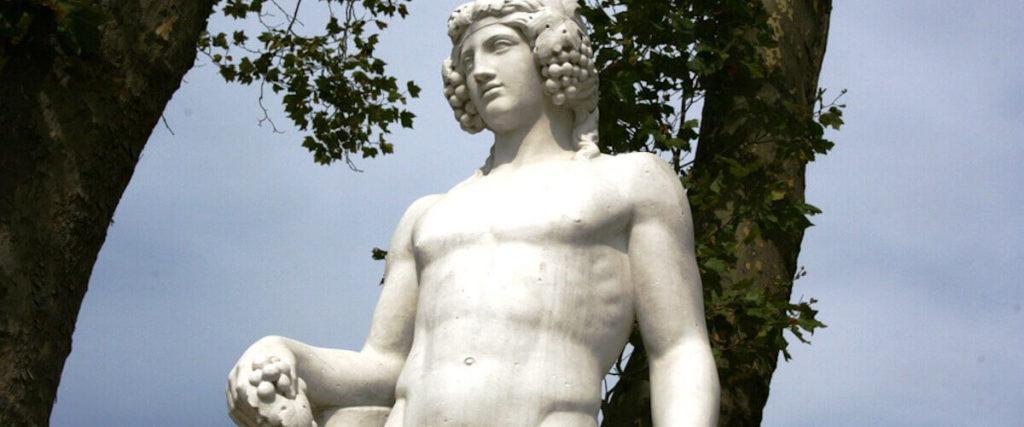 dios griego del vino